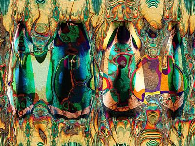 Digital Art - Belle by Kiki Art