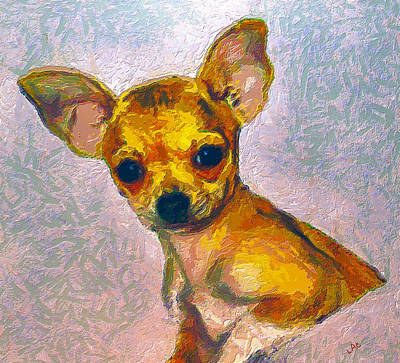 Chihuahua Digital Art - Belle by Laurence Canter