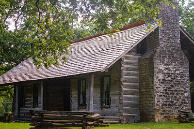 Photograph - Belle Meade Cabin by Robert Hebert