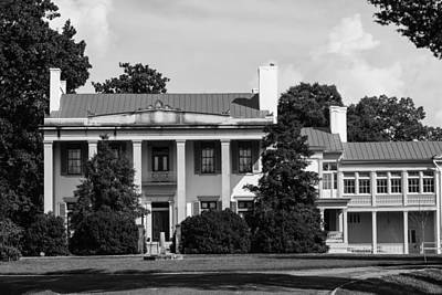 Photograph - Belle Meade Mansion by Robert Hebert