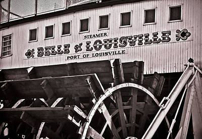 Photograph - Belle Of Louisville by Greg Jackson