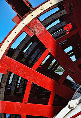Photograph - Belle Of Louisville Paddlewheel by Greg Jackson