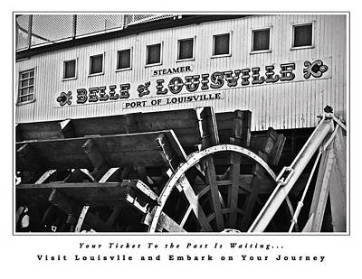 Photograph - Belle Of Louisville Travel Poster by Greg Jackson