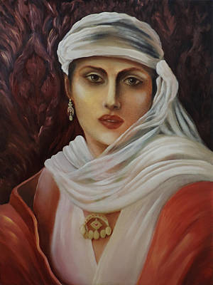 Painting - Belle Of The East by Siyavush Mammadov