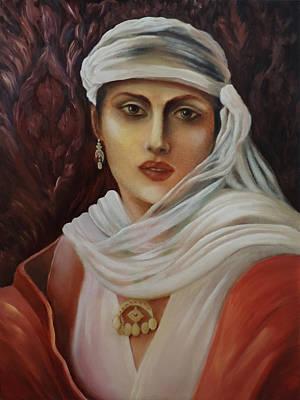 Painting - Belle Of The East by Siyavush Mammadov