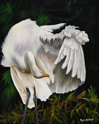 Waterfowl Painting - Belle Oiseau by Phyllis Beiser