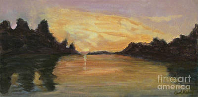 Belle River II Art Print