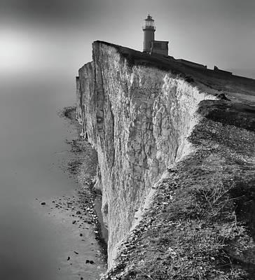 Ledge Photograph - Belle Tout Lighthouse by Tomas Klim