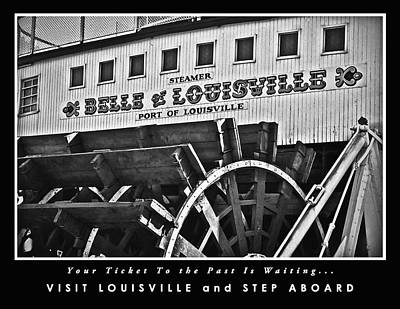 Photograph - Belle Of Louisville Travel Poster 2 by Greg Jackson