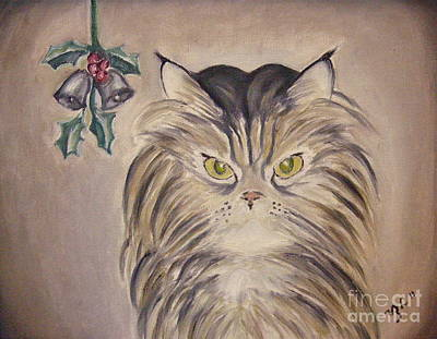 Painting - Belle With Silver Bells by Victoria Lakes