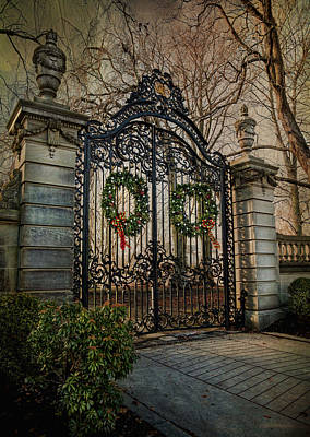 Photograph - Bellevue Avenue Newport by Robin-Lee Vieira