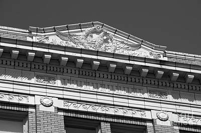 Photograph - Bellingham National Bank Detail by John  Mitchell