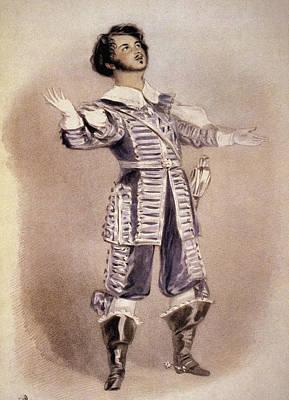 Opera Gloves Painting - Bellini Arturo by Granger