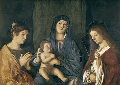 Bambino Photograph - Bellini, Giovanni 1430-1516. Virgin by Everett