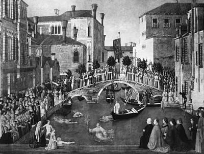 Bellini Miracle, C1500 Art Print by Granger