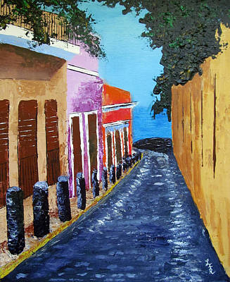 Painting - Bello Callejon by Luis F Rodriguez