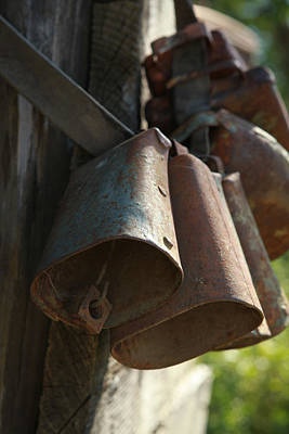 Photograph - Bells by Diane Bohna