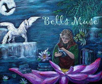 Bells Muse  Art Print by The Art With A Heart By Charlotte Phillips