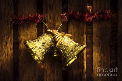 Digital Art - Bells Of Christmas Joy by Jorgo Photography - Wall Art Gallery