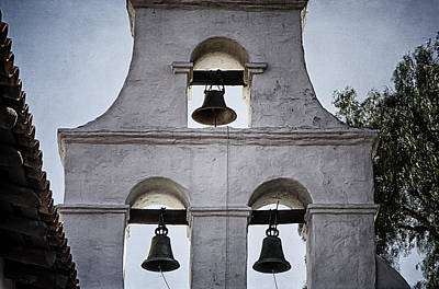 Mission San Diego Photograph - Bells Of Mission San Diego Too by Joan Carroll