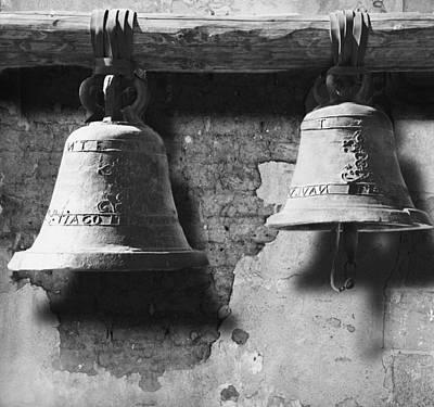 Bells Of San Juan Capistrano Art Print by Larry Butterworth