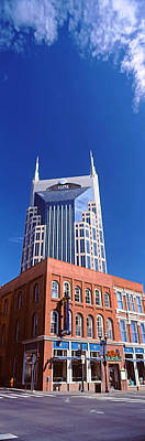 Davidson County Photograph - Bellsouth Building In Nashville by Panoramic Images