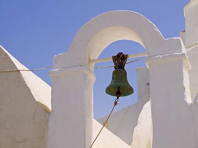 Photograph - Belltower In Mykonos by Brenda Kean