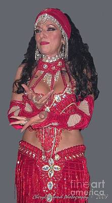 Photograph - Belly Dancing 101 Instructor by Cheryl Poland