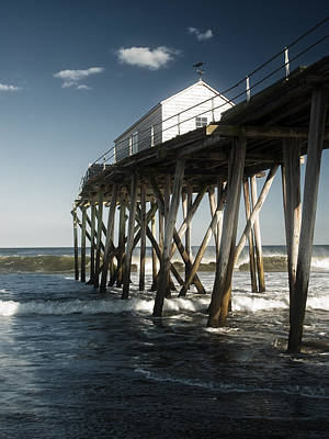 Photograph - Belmar Beach by Wayne Gill