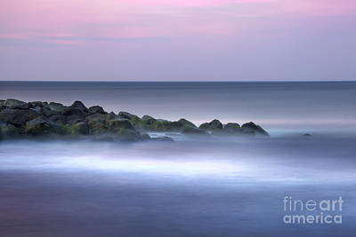 Belmar On The Rocks Art Print