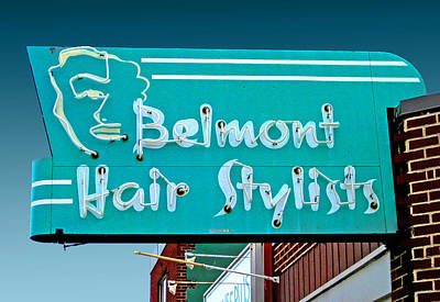 Photograph - Belmont Hair Stylists by Larry Hunter