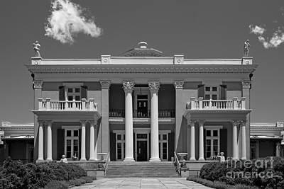 Belmont University Belmont Mansion Art Print by University Icons