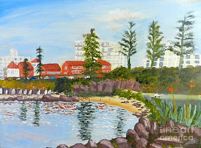 Belmore Basin From The North Sea Wall Art Print