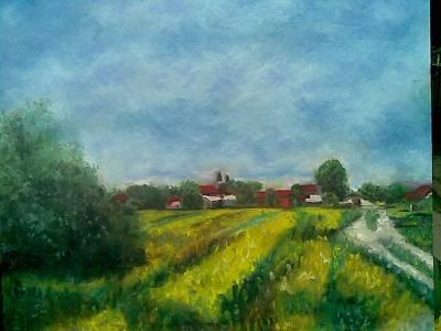Painting - Belo Blato by Lazar Caran