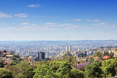 Cityscapes Photograph - Belo Horizonte by Antonello