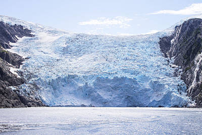Photograph - Beloit Glacier by Saya Studios