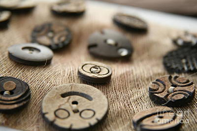 Photograph - Beloved Buttons  by Lynn England