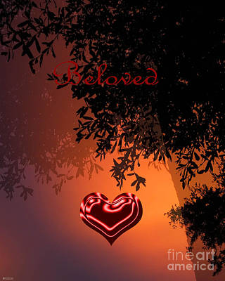 Digital Art - Beloved by Lizi Beard-Ward