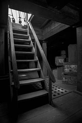 Photograph - Below Deck - Charles W Morgan Whaling Ship by Gary Heller