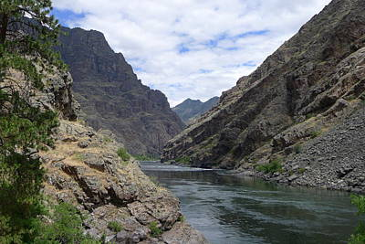 Photograph - Below Hells Canyon Dam by Joel Deutsch