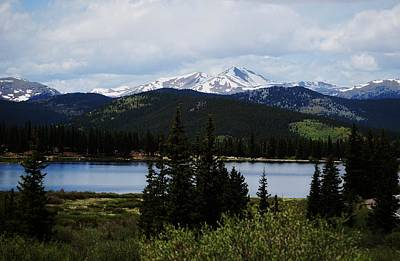 Photograph - Below Mt Evans by Steven Liveoak