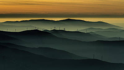 Haze Photograph - Below The Horizon by Rui Correia