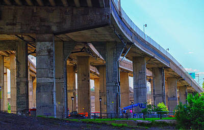 Decarie Photograph - Below The Junction by Diane Tisseur Groovy Lens Photographic Art