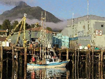 Photograph - Below The Wharf by Susan Stephenson