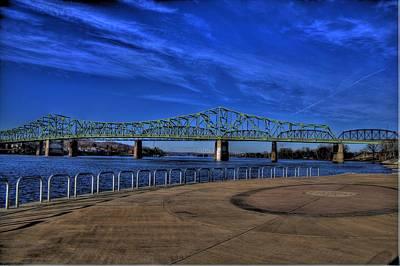 Parkersburg Wv Photograph - Belpre Bridge by Jonny D