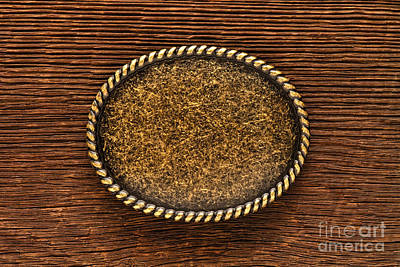 Barn Wood Photograph - Belt Buckle by Olivier Le Queinec