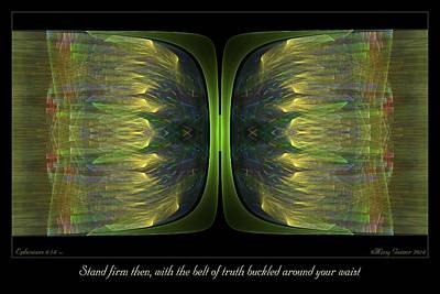 Digital Art - Belt Of Truth by Missy Gainer