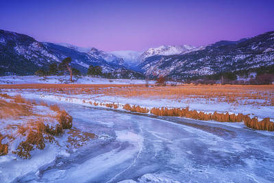 Belt Of Venus Rmnp Art Print