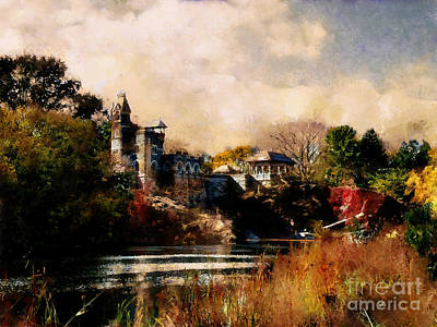 Photograph - Belvedere Castle by Scott B Bennett