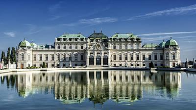 Photograph - Belvedere Palace by Oleksandr Maistrenko